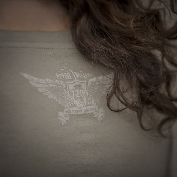 720gear back logo on t-shirt
